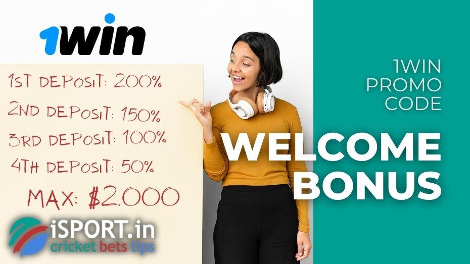 1win Promocode: Welcome Bonus
