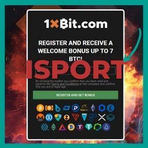 1xBit Promo Code - Enter the ISPORT