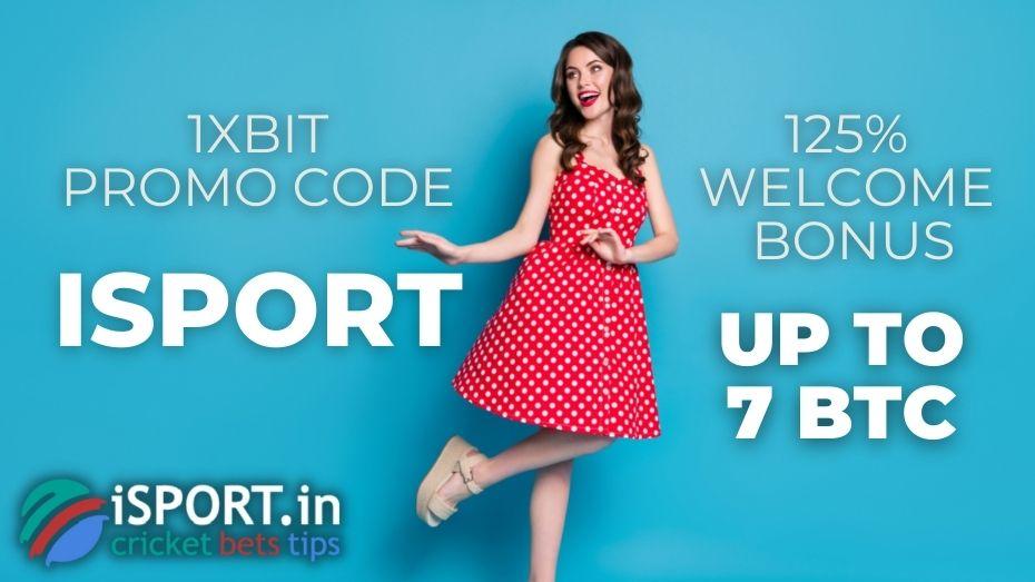1xBit Promo Code upon registering