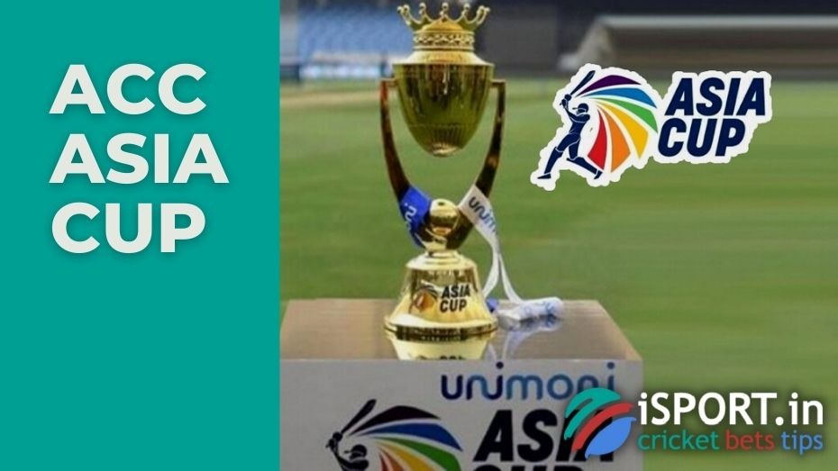 The Asian Cricket Council Asia Cup is a men's One Day International and Twenty20 International cricket tournament