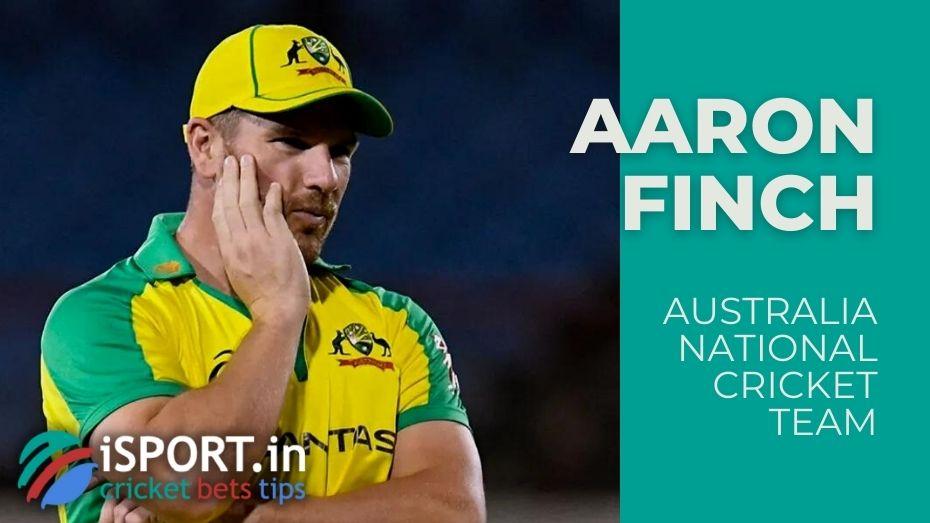 Australia National Cricket Team - Aaron Finch - Captain ODI and T20I Team