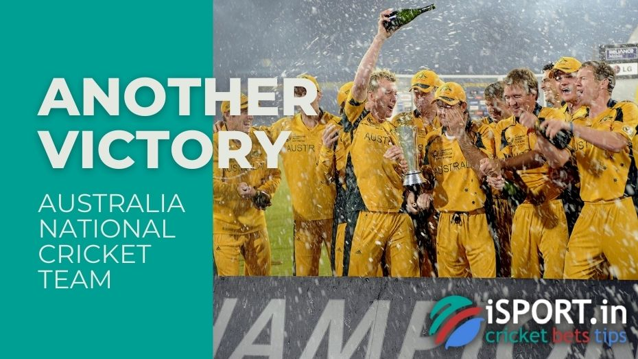 Australia National Cricket Team - The national team has many victories
