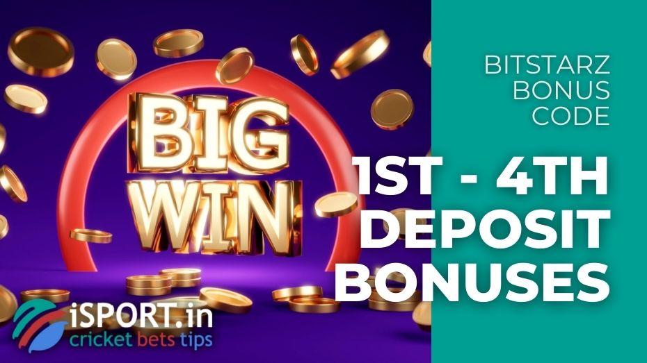 BitStarz Bonus Code - Get Bonusesfor 1st - 4th Deposits