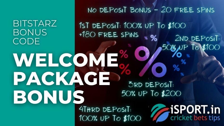 BitStarz Bonus Code - Welcome Package Bonus