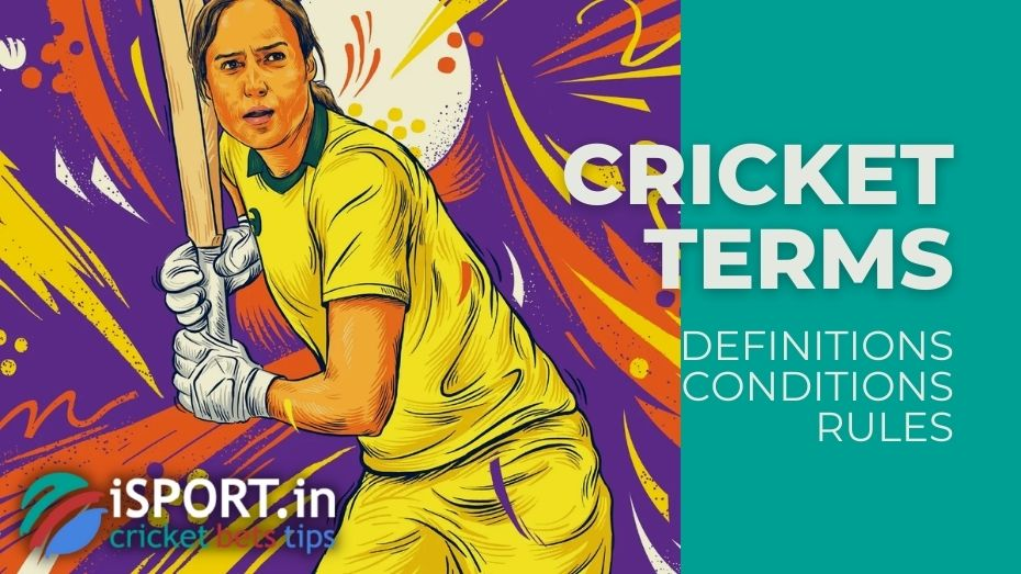 Cricket Terms, Definitions, Conditions and Rules