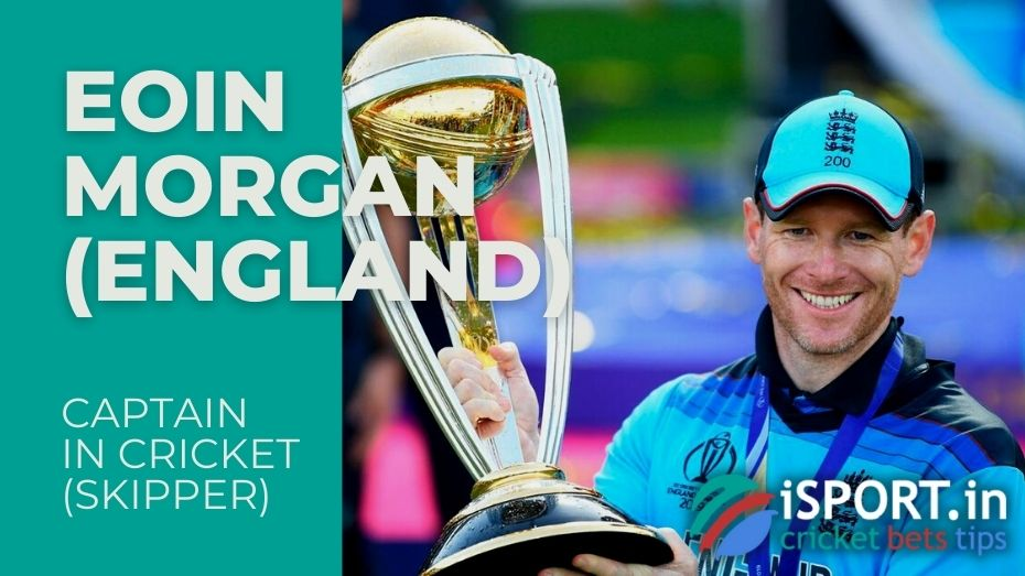 Eoin Morgan - Captain of the England cricket team in ODI and T20I since 2011