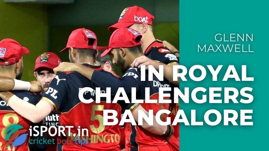 Glenn Maxwell in Royal Challengers Bangalore