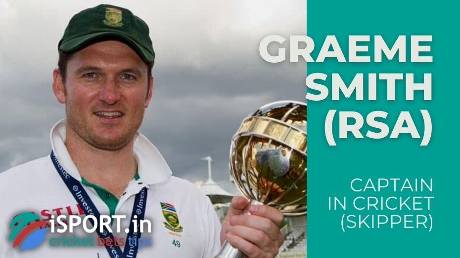 Graeme Smith - Captain-record holder of the South Africa National Cricket Team from 2003 to 2014