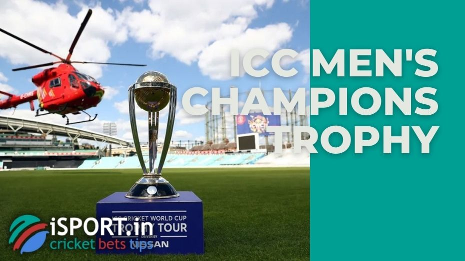 The ICC Champions Trophy is a ODI cricket tournament organised by the International Cricket Council (ICC), second in importance only to the Cricket World Cup