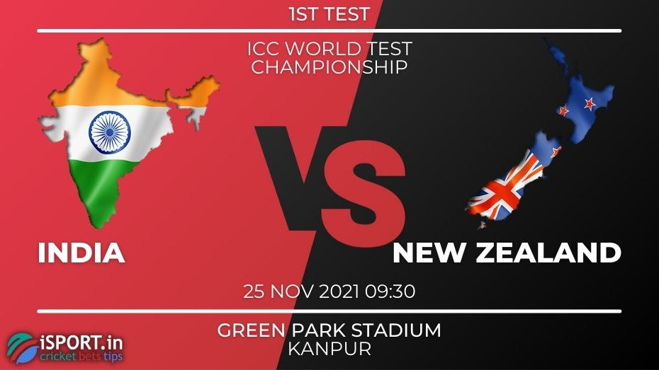 India vs New Zealand Betting Tips 25 November 2021