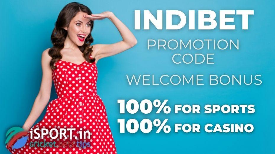 Indibet Promotion Code: Welcome Bonus