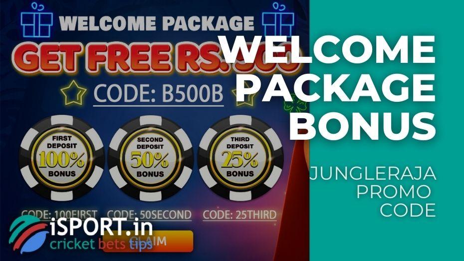 JungleRaja Promo Code - 4 Bonuses upon Registration