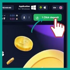 Make deposits to receive a bonus 500%