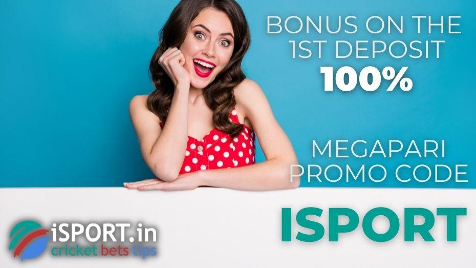 Megapari Promo Code: 100% Bonus on the 1st Deposit
