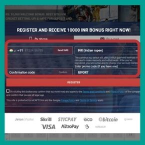 Megapari Promo Code: Registration information