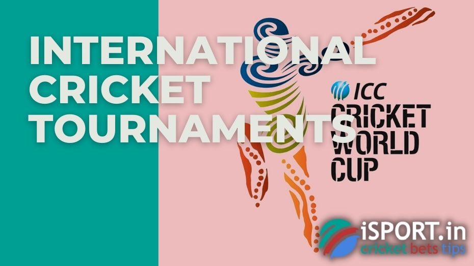 All international cricket tournaments can be found in the Important International Cricket Tournaments section
