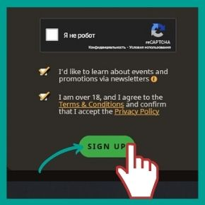 PlayFortuna Bonus Code - Complete the registration
