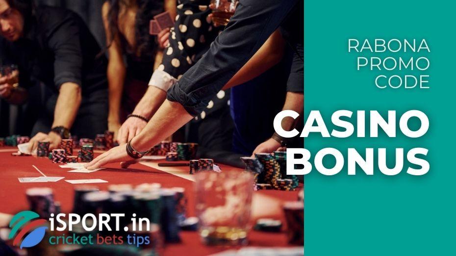 Rabona Promo Code - Casino Bonus up to 500 EUR