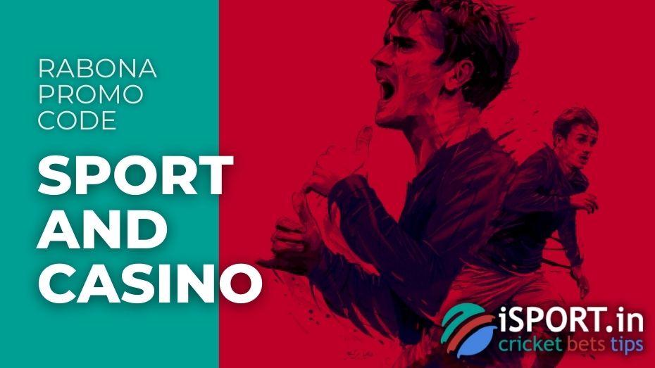 Rabona Promo Code - Sport and Casino Bonuses