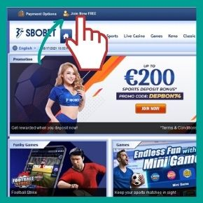 Sbobet Promo Code - Click on the link Join Now FREE