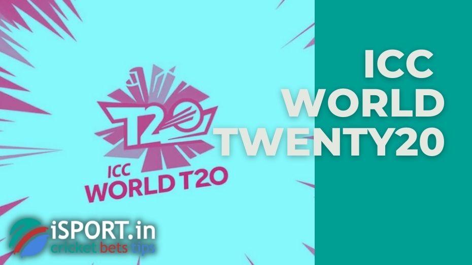 The ICC Men's T20 World Cup is the international championship of Twenty20 International cricket