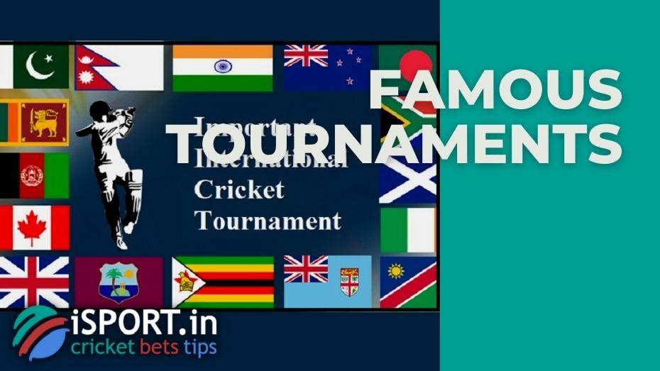 Minor International Cricket Tournaments