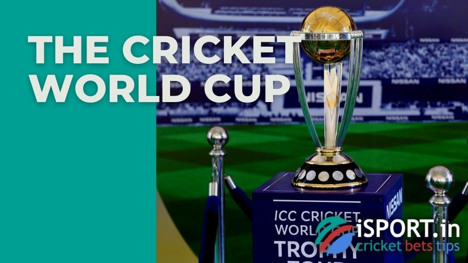 The Cricket World Cup is the main international cricket championship